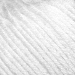 Пряжа Пехорка Детский каприз (50% мериносовая шерсть, 50% фибра) 10х50г/225м цв.001 белый