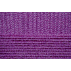 Пряжа Пехорка Детский каприз (50% мериносовая шерсть, 50% фибра) 10х50г/225м цв.078 фиолетовый