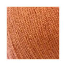 Пряжа Пехорка Детский каприз (50% мериносовая шерсть, 50% фибра) 10х50г/225м цв.284 оранжевый