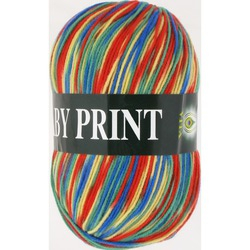 Пряжа Vita Baby Print 4882