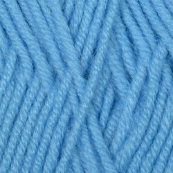 Пряжа Пехорка Детская объёмная (100% микрофибра) 5х100г/400м цв.005 голубой