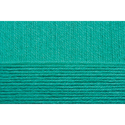 Пряжа Пехорка Детская объёмная (100% микрофибра) 5х100г/400м цв.581 св.изумруд