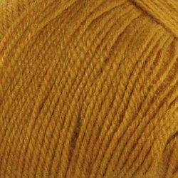 Пряжа Пехорка Кроссбред Бразилия (50% шерсть, 50% акрил) 5х100г/490м цв.447 горчица