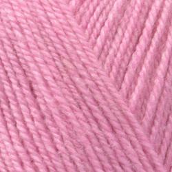 Пряжа Пехорка Кроссбред Бразилия (50% шерсть, 50% акрил) 5х100г/490м цв.582 св.фуксия