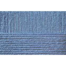 Пряжа Пехорка Школьная (100% акрил) 5х50г/150м цв.520 голубая пролеска
