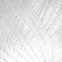 Пряжа ПНК им. Кирова Снежинка (100% хлопок) 20х25г/230м цв.0101 белый