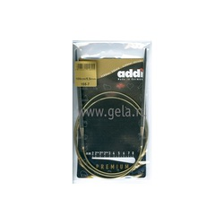 Спицы Addi Круговые супергладкие никелевые 5.5 мм / 100 см