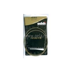 Спицы Addi Круговые супергладкие никелевые 3 мм / 100 см