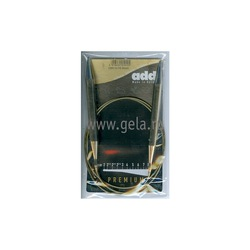 Спицы Addi Круговые супергладкие никелевые 10 мм / 100 см