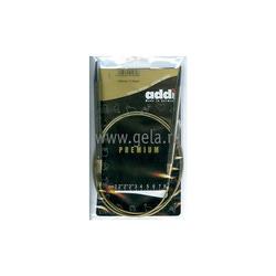 Спицы Addi Круговые супергладкие никелевые 7 мм / 100 см