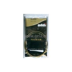 Спицы Addi Круговые супергладкие никелевые 6.5 мм / 100 см