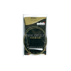Спицы Addi Круговые супергладкие никелевые 3.5 мм / 100 см