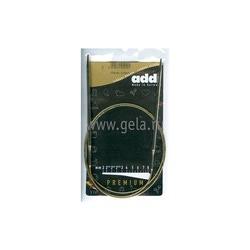Спицы Addi Круговые супергладкие никелевые 4 мм / 100 см