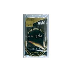 Спицы Addi Круговые супергладкие никелевые 9 мм / 100 см