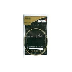Спицы Addi Круговые супергладкие никелевые 2 мм / 100 см