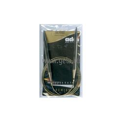 Спицы Addi Круговые супергладкие никелевые 9 мм / 120 см