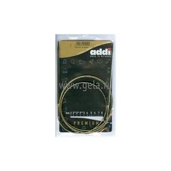 Спицы Addi Круговые супергладкие никелевые 4 мм / 120 см