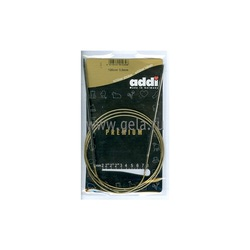 Спицы Addi Круговые супергладкие никелевые 3 мм / 120 см