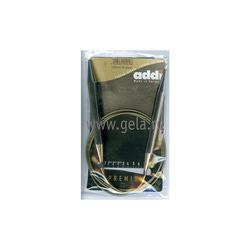Спицы Addi Круговые супергладкие 10 мм / 120 см