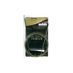 Спицы Addi Круговые супергладкие никелевые 2.5 мм / 120 см