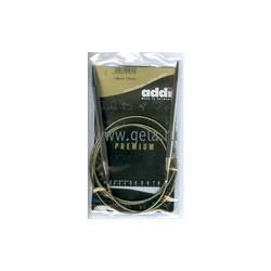 Спицы Addi Круговые супергладкие никелевые 7 мм / 120 см