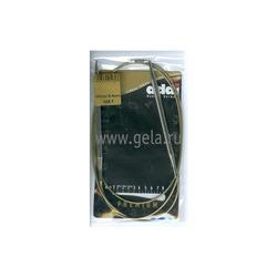 Спицы Addi Круговые супергладкие никелевые 6 мм / 120 см