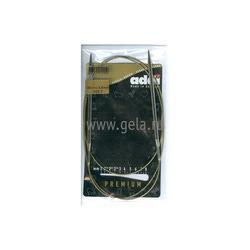 Спицы Addi Круговые супергладкие никелевые 4.5 мм / 120 см