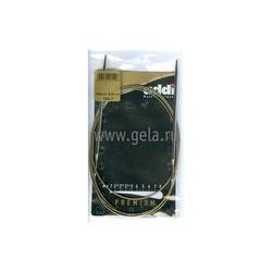 Спицы Addi Круговые супергладкие никелевые 4 мм / 150 см
