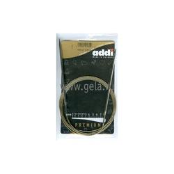 Спицы Addi Круговые супергладкие никелевые 3.5 мм / 150 см