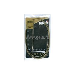 Спицы Addi Круговые супергладкие никелевые 5 мм / 150 см