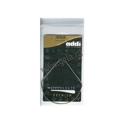 Спицы Addi Круговые супергладкие никелевые 2.5 мм / 30 см