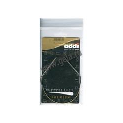 Спицы Addi Круговые супергладкие никелевые 3 мм / 30 см
