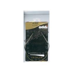 Спицы Addi Круговые супергладкие никелевые 4 мм / 30 см
