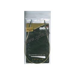 Спицы Addi Круговые супергладкие 6 мм / 40 см