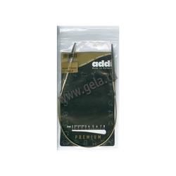 Спицы Addi Круговые супергладкие никелевые 7 мм / 40 см