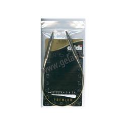 Спицы Addi Круговые супергладкие никелевые 9 мм / 40 см
