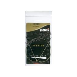 Спицы Addi Круговые супергладкие никелевые 2 мм / 50 см