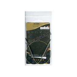 Спицы Addi Круговые супергладкие никелевые 4 мм / 50 см