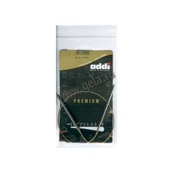 Спицы Addi Круговые супергладкие никелевые 4.5 мм / 50 см
