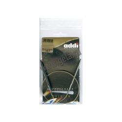 Спицы Addi Круговые супергладкие никелевые 6 мм / 50 см