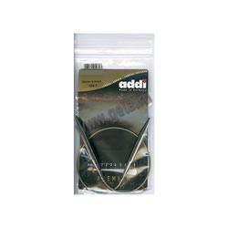 Спицы Addi Круговые супергладкие никелевые 8 мм / 50 см