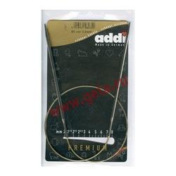 Спицы Addi Круговые супергладкие никелевые 3 мм / 60 см