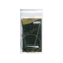 Спицы Addi Круговые супергладкие никелевые 4 мм / 60 см