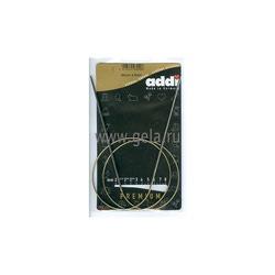Спицы Addi Круговые супергладкие никелевые 2 мм / 80 см