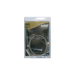 Спицы Addi Круговые супергладкие никелевые 12 мм / 80 см