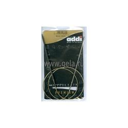 Спицы Addi Круговые супергладкие никелевые 3 мм / 80 см