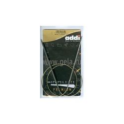 Спицы Addi Круговые супергладкие никелевые 3.25 мм / 80 см