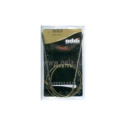Спицы Addi Круговые супергладкие никелевые 3.5 мм / 80 см