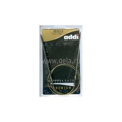 Спицы Addi Круговые супергладкие никелевые 3.75 мм / 80 см