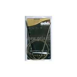 Спицы Addi Круговые супергладкие 4 мм / 80 см